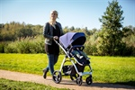 Die Kinderwagen-Serien  PURE 4-wheel pram und  FLAIR 3-wheel pram  als Baukasten